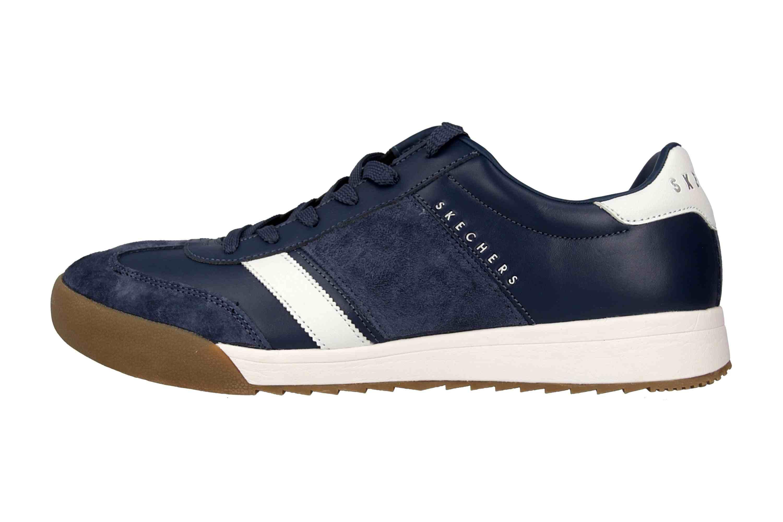 Skechers ZINGER SCOBIE Sneaker in Übergrößen Blau 52322 NVY große Herrenschuhe