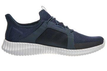 Skechers ELITE FLEX Sneaker in Übergrößen Blau 52640 NVOR große Herrenschuhe – Bild 4