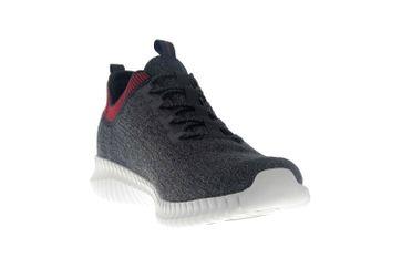 Skechers ELITE FLEX HARTNELL Sneaker in Übergrößen Schwarz 52642 BKRD große Herrenschuhe – Bild 5