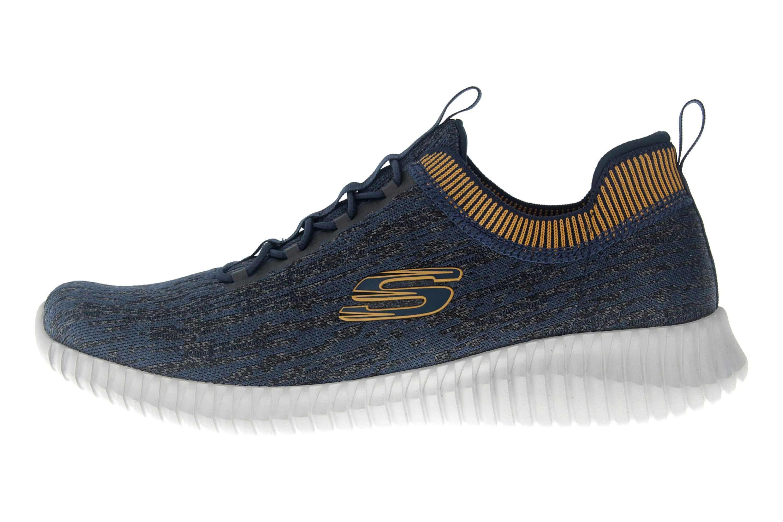Skechers ELITE FLEX HARTNELL Sneaker in Übergrößen Blau 52642 NVYL große Herrenschuhe – Bild 1