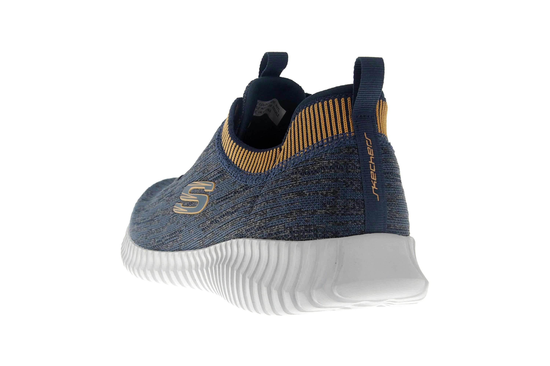 Skechers ELITE FLEX HARTNELL Sneaker in Übergrößen Blau 52642 NVYL große Herrenschuhe – Bild 2