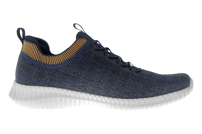 Skechers ELITE FLEX HARTNELL Sneaker in Übergrößen Blau 52642 NVYL große Herrenschuhe – Bild 4
