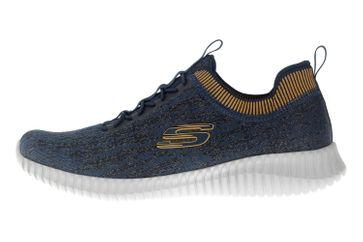 Skechers ELITE FLEX HARTNELL Sneaker in Übergrößen Blau 52642 NVYL große Herrenschuhe