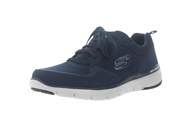Skechers FLEX ADVANTAGE 3.0 Sportschuhe in Übergrößen Blau 52954 NVY große Herrenschuhe – Bild 6