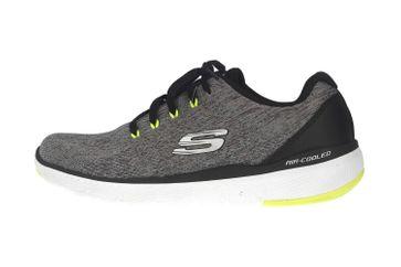 Skechers FLEX ADVANTAGE 3.0 STALLY Sportschuhe in Übergrößen Grau 52957 GYBK große Herrenschuhe