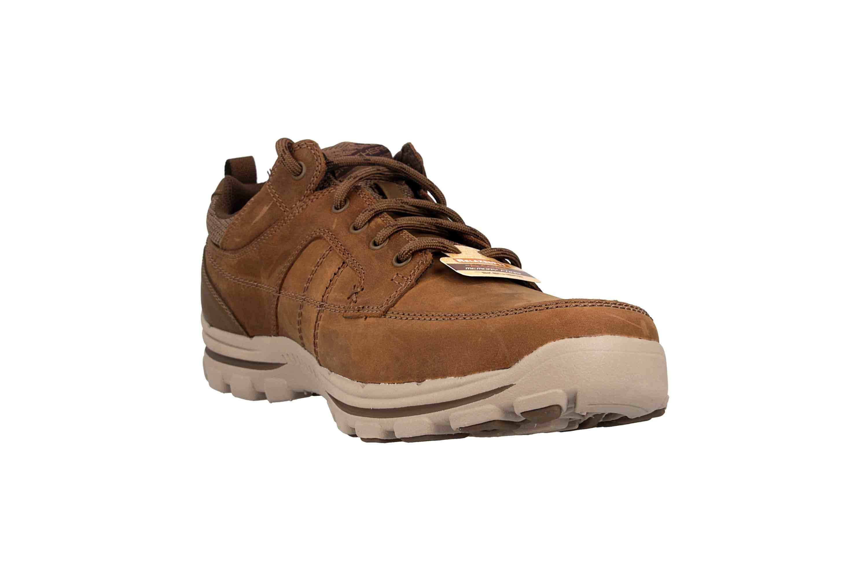Skechers BRAVER RALSON Sneaker in Übergrößen Braun 65580 DSRT große Herrenschuhe – Bild 5