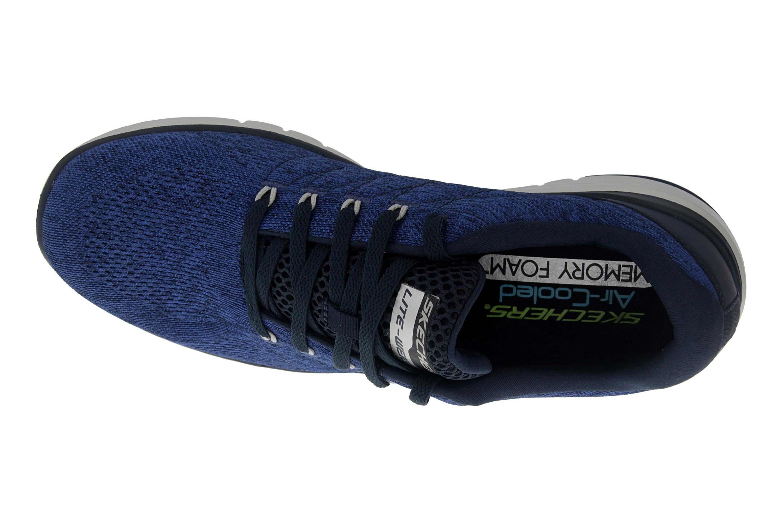 Skechers FLEX ADVANTAGE 3.0 STALLY Sportschuhe in Übergrößen Blau 52957 NVY große Herrenschuhe – Bild 7