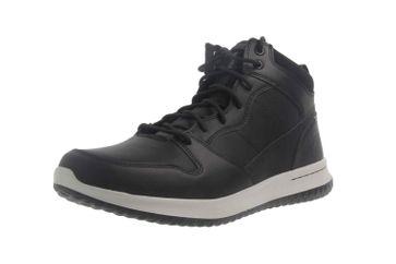 Skechers DELSON RALCON Sneaker in Übergrößen Schwarz 65691 BLK große Herrenschuhe – Bild 6