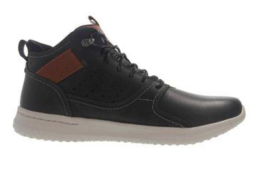 Skechers DELSON VENEGO Sneaker in Übergrößen Schwarz 65778 BLK große Herrenschuhe – Bild 4
