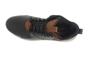 Skechers DELSON VENEGO Sneaker in Übergrößen Schwarz 65778 BLK große Herrenschuhe – Bild 7