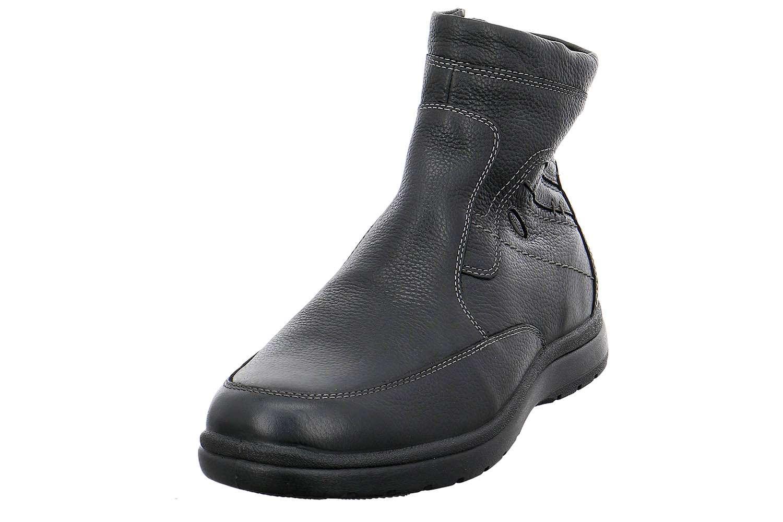 Jomos Atlanta Stiefel in Übergrößen Schwarz 464502 373 000 große Herrenschuhe – Bild 1
