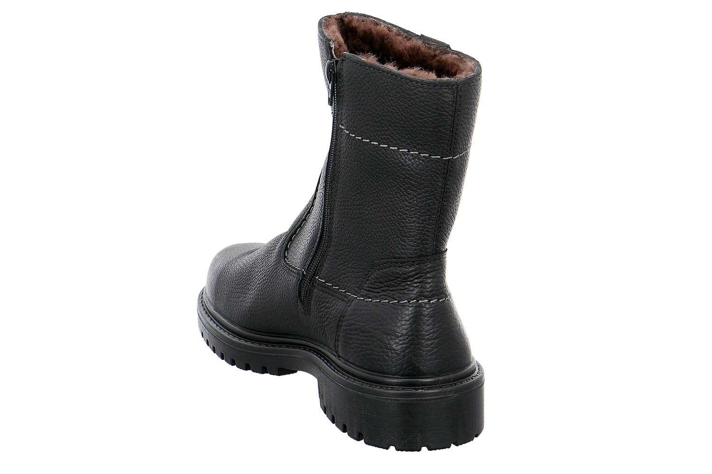 Jomos Alpina Stiefel in Übergrößen Schwarz 456504 340 000 große Herrenschuhe – Bild 3