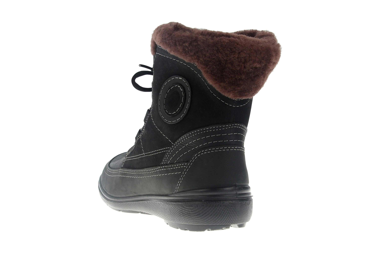 Jomos Freewalk Stiefel in Übergrößen Schwarz 806501 442 000 - echtes Lammfell- große Damenschuhe – Bild 2