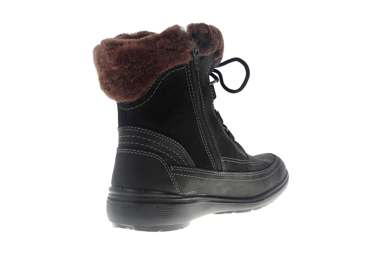 Jomos Freewalk Stiefel in Übergrößen Schwarz 806501 442 000 - echtes Lammfell- große Damenschuhe – Bild 3