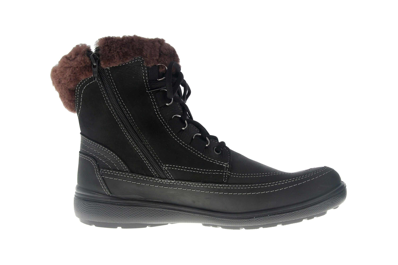 Jomos Freewalk Stiefel in Übergrößen Schwarz 806501 442 000 - echtes Lammfell- große Damenschuhe – Bild 4