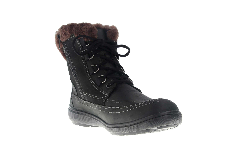 Jomos Freewalk Stiefel in Übergrößen Schwarz 806501 442 000 - echtes Lammfell- große Damenschuhe – Bild 5