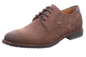 Fretz Men Grenoble Business-Schuhe in Übergrößen Braun 7410.7216-38 große Herrenschuhe – Bild 1
