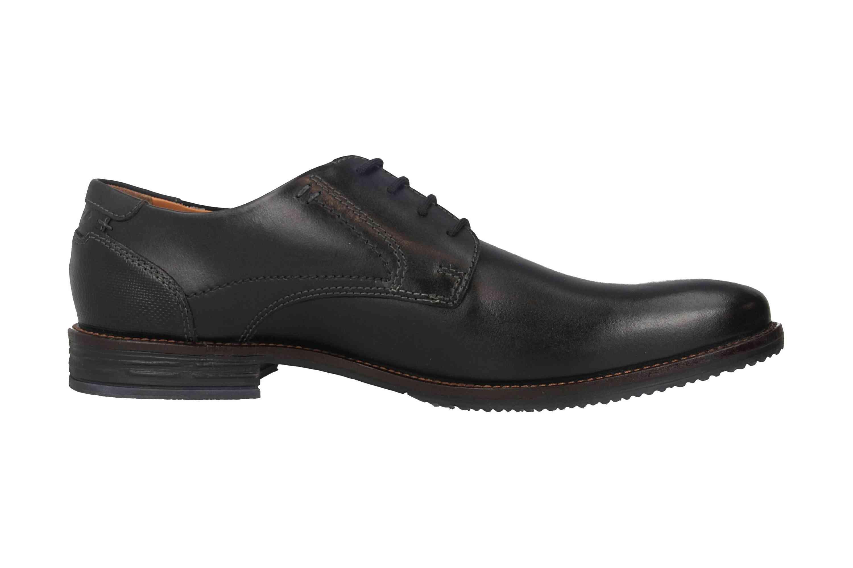 Fretz Men Grenoble Business-Schuhe in Übergrößen Schwarz 7410.7216-51 große Herrenschuhe – Bild 4