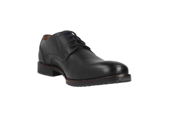 Fretz Men Grenoble Business-Schuhe in Übergrößen Schwarz 7410.7216-51 große Herrenschuhe – Bild 5