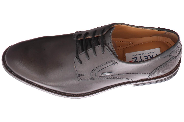 Fretz Men Grenoble Business-Schuhe in Übergrößen Braun 7410.7271-21 große Herrenschuhe – Bild 7