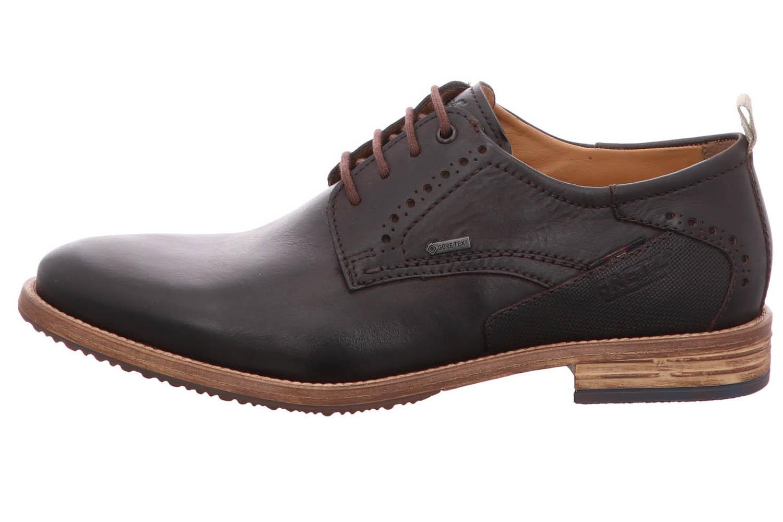 Fretz Men Grenoble Business-Schuhe in Übergrößen Braun 7420.7271-38 große Herrenschuhe – Bild 2