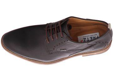 Fretz Men Grenoble Business-Schuhe in Übergrößen Braun 7420.7271-38 große Herrenschuhe – Bild 7