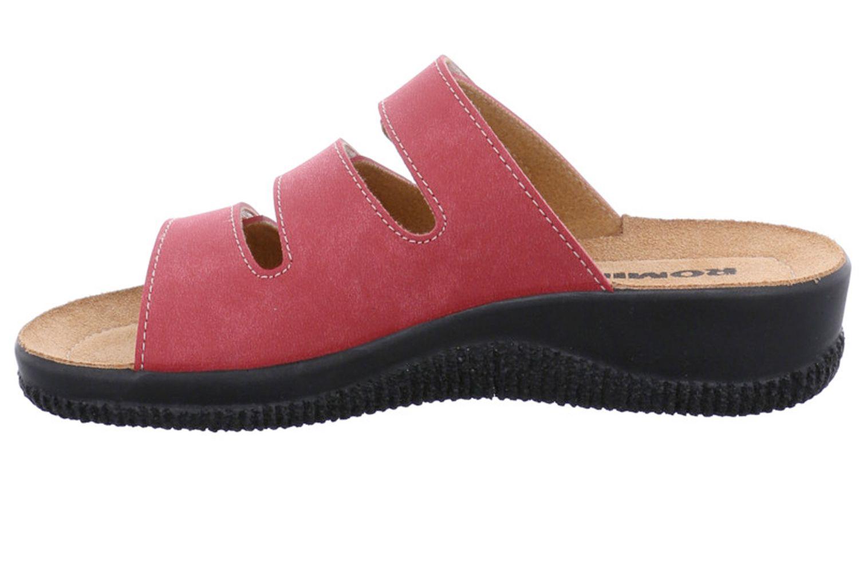 ROMIKA Salina 01 Pantoletten in Übergrößen Rot 51501 10 400 große Damenschuhe – Bild 2