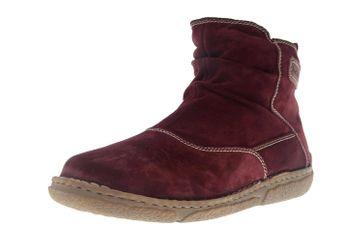 Josef Seibel Neele 38 Stiefel in Übergrößen Rot 85138 PL949 410 große Damenschuhe – Bild 6
