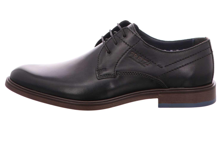 Fretz Men Oskar Business-Schuhe in Übergrößen Grau 7145.7374-22 große Herrenschuhe – Bild 2