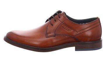 Fretz Men Oskar Business-Schuhe in Übergrößen Braun 7145.7374-37 große Herrenschuhe – Bild 2