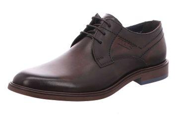 Fretz Men Oskar Business-Schuhe in Übergrößen Braun 7145.7374-59 große Herrenschuhe – Bild 1