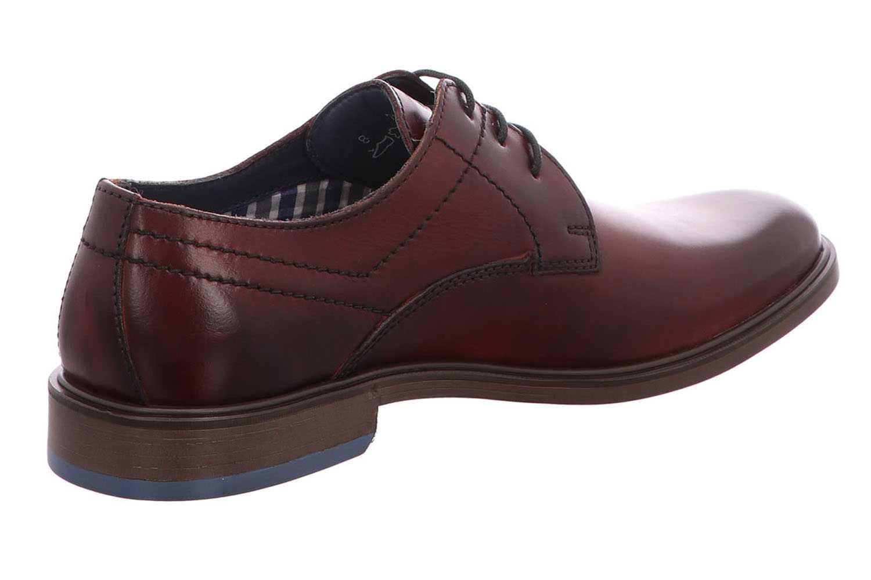 Fretz Men Oskar Business-Schuhe in Übergrößen Rot 7145.7374-93 große Herrenschuhe – Bild 4