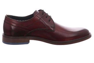 Fretz Men Oskar Business-Schuhe in Übergrößen Rot 7145.7374-93 große Herrenschuhe – Bild 5