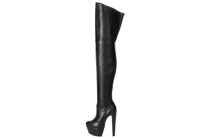 Giaro Survivor Stiefel in Übergrößen Schwarz Survivor Black Matte große Damenschuhe – Bild 2