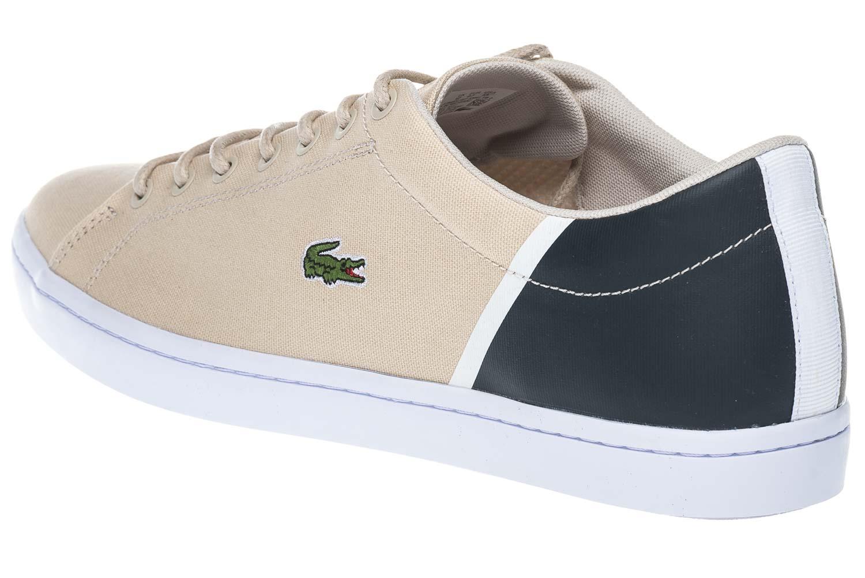 LACOSTE Sneaker in Übergrößen Beige 7-35CAM0100NN2 große Herrenschuhe – Bild 2