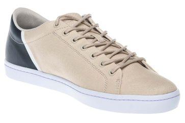 LACOSTE Sneaker in Übergrößen Beige 7-35CAM0100NN2 große Herrenschuhe – Bild 6