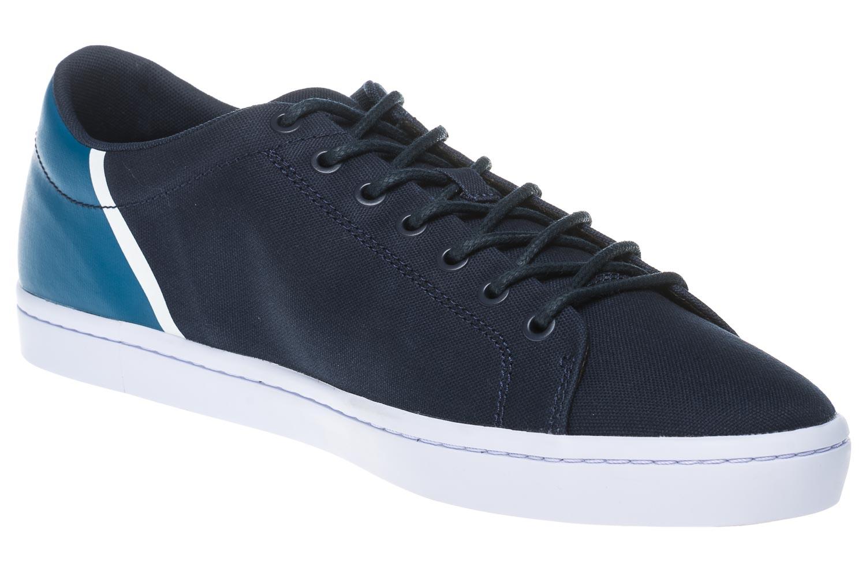LACOSTE Sneaker in Übergrößen Blau 7-35CAM0100ND1 große Herrenschuhe – Bild 6
