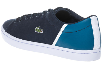 LACOSTE Sneaker in Übergrößen Blau 7-35CAM0100ND1 große Herrenschuhe – Bild 3