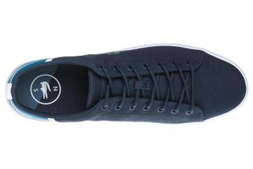 LACOSTE Sneaker in Übergrößen Blau 7-35CAM0100ND1 große Herrenschuhe – Bild 8