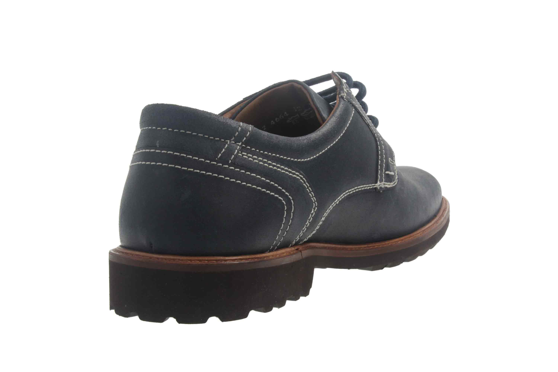 Manz Firenze AGO Puratex Business-Schuhe in Übergrößen Blau 146064-03-041 große Herrenschuhe – Bild 3