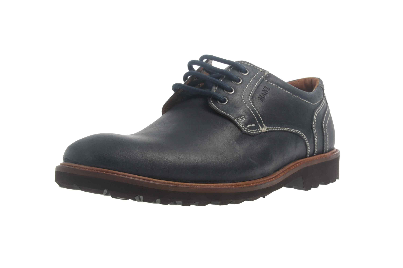 Manz Firenze AGO Puratex Business-Schuhe in Übergrößen Blau 146064-03-041 große Herrenschuhe – Bild 6