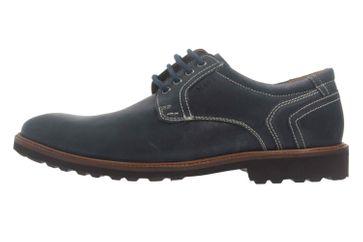 Manz Firenze AGO Puratex Business-Schuhe in Übergrößen Blau 146064-03-041 große Herrenschuhe