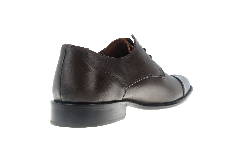 Manz Kay AGO Business-Schuhe in Übergrößen Braun 142090-02-187 große Herrenschuhe – Bild 3