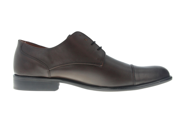 Manz Kay AGO Business-Schuhe in Übergrößen Braun 142090-02-187 große Herrenschuhe – Bild 4