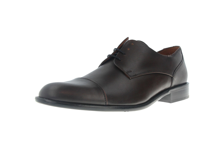 Manz Kay AGO Business-Schuhe in Übergrößen Braun 142090-02-187 große Herrenschuhe – Bild 6