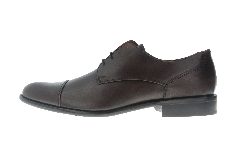 Manz Kay AGO Business-Schuhe in Übergrößen Braun 142090-02-187 große Herrenschuhe – Bild 1