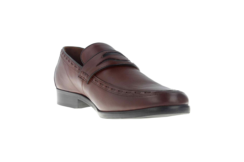 Manz Enrico AGO Business-Schuhe in Übergrößen Braun 111010-03-235 große Herrenschuhe – Bild 5