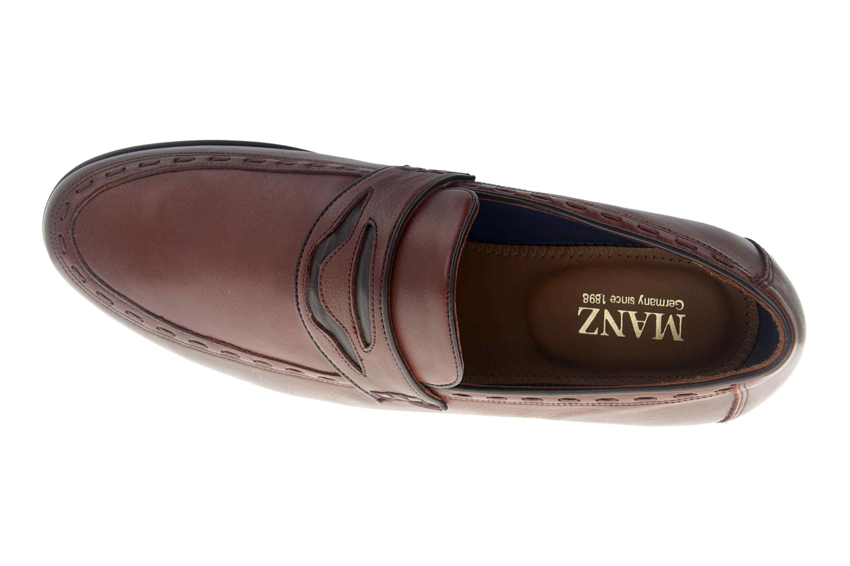 Manz Enrico AGO Business-Schuhe in Übergrößen Braun 111010-03-235 große Herrenschuhe – Bild 7
