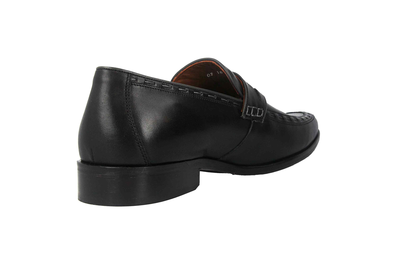 Manz Enrico AGO Business-Schuhe in Übergrößen Schwarz 111010-03-303 große Herrenschuhe – Bild 3