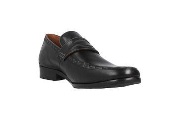 Manz Enrico AGO Business-Schuhe in Übergrößen Schwarz 111010-03-303 große Herrenschuhe – Bild 5